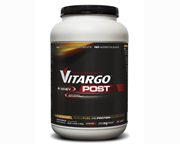 VITARGO POST WHEY PROTEIN ISOLATE MUSCLE FUEL 4.2 LBS TANGERINE